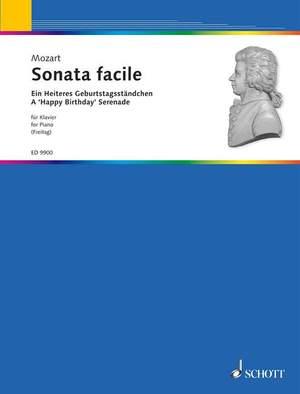 Mozart, W A: Sonata facile