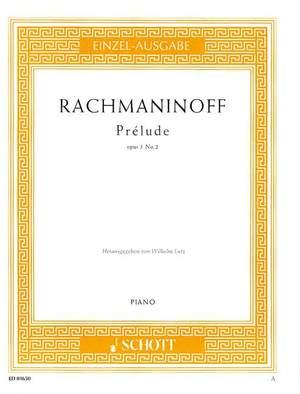 Rachmaninoff, S: Prélude C sharp Minor op. 3/2 Product Image