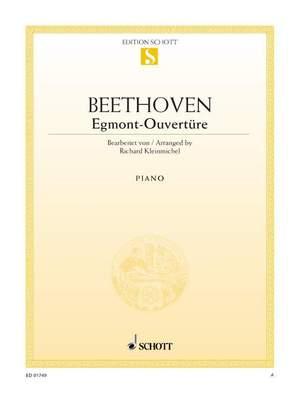 Beethoven, L v: Egmont-Overture op. 84