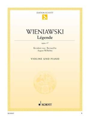 Wieniawski, H: Légende op. 17