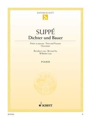 Suppé, F v: Dichter und Bauer