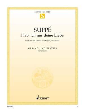 Suppé, F v: Hab' ich nur deine Liebe Product Image