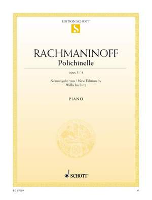 Rachmaninoff, S: Polichinelle op. 3/4 Product Image