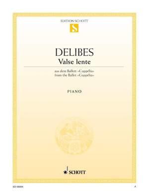 Delibes, L: Slow Waltz