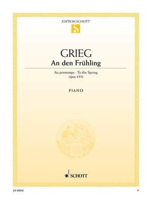 Grieg, E: To the Spring op. 43/6