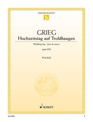 Grieg, E: Wedding day op. 65/6