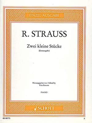 Strauss, R: Two little Pieces o. Op. AV. 22