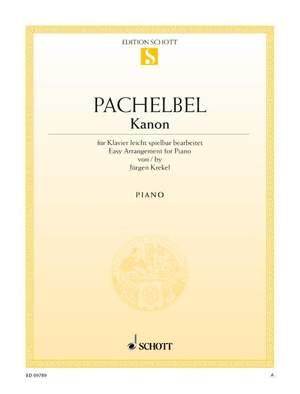 Pachelbel, J: Canon