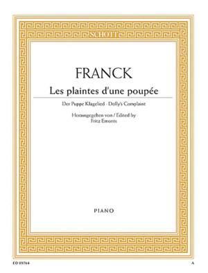 Franck, C: Les plaintes d'une poupée