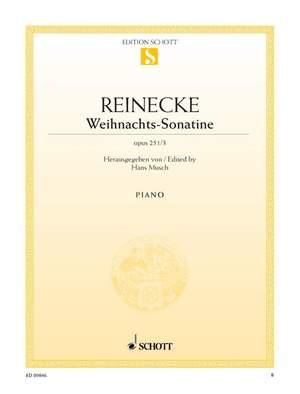 Reinecke, C: Christmas Sonatina op. 251/3