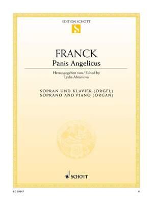 Franck, C: Panis Angelicus A major