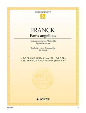 Franck, C: Panis angelicus