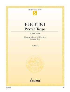 Puccini, G: A little Tango
