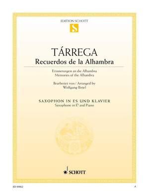 Tárrega, F: Recuerdos de la Alhambra