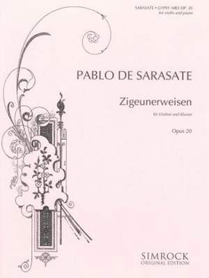 Sarasate: Gipsy Airs op. 20