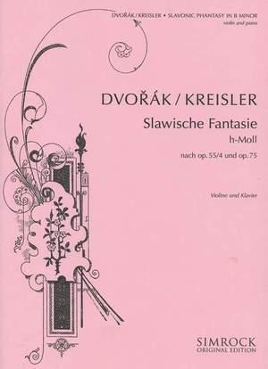 Dvorák, A: Slavonic Fantasy in B Minor Product Image