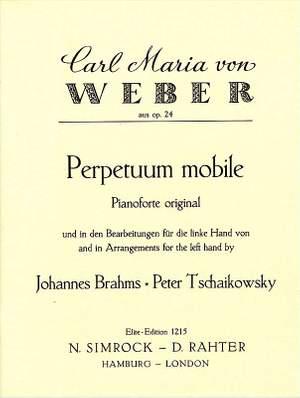 Weber: Perpetuum mobile op. 24