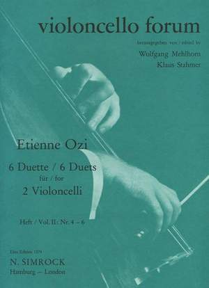 Ozi, E: Six Duets Band 2 Product Image