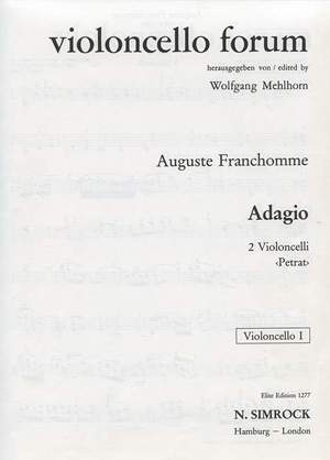 Franchomme, A J: Adagio in G