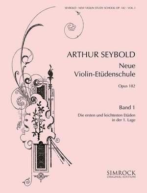 New Violin Study School op. 182 Band 1