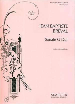 Bréval, J B: Sonata in G Major