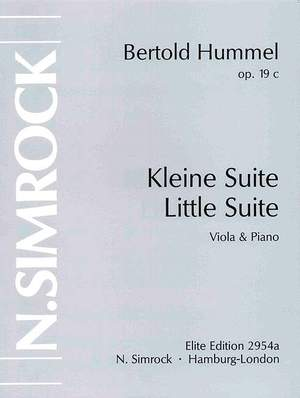 Hummel, B: Little Suite op. 19c