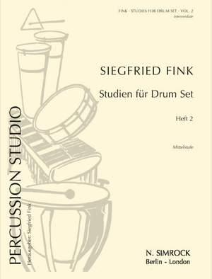 Fink, S: Studies for Drum Set Vol. 2