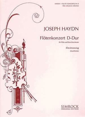 Haydn, J: Flute Concerto in D Major Hob. VII/D1