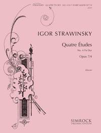 Igor Stravinsky: Four Studies, Op. 7 No. 4 in F sharp Major
