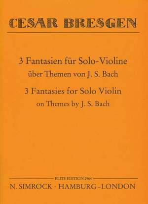 Bresgen, C: Three Fantasies