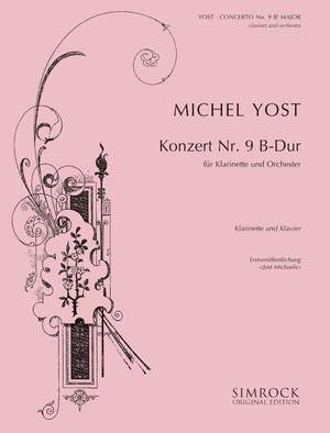 Yost, M: Clarinet Concerto 9 in B Flat