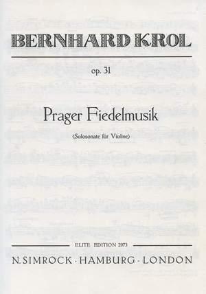 Krol, B: Prager Fiedelmusik op. 31