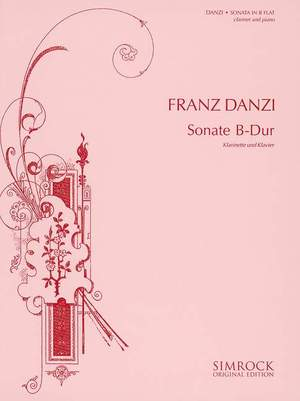 Danzi, F: Sonata in B Flat