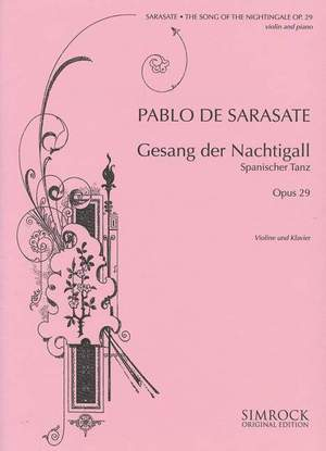 Sarasate: Song of the Nightingale op. 29