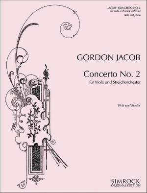 Jacob, G: Viola Concerto No.2 in G