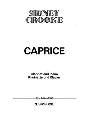 Crooke, S: Caprice Product Image