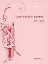 Hummel, J F: Trio in B Flat