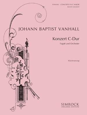 Vanhal, J K: Bassoon Concerto in C
