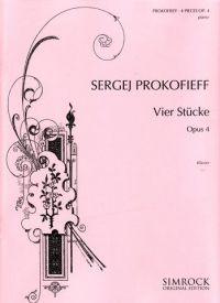 Prokofieff, S: Four Pieces op. 4
