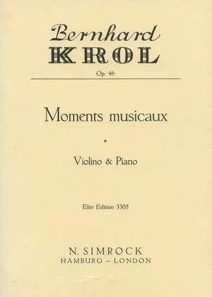 Krol, B: Moments musicaux op. 46