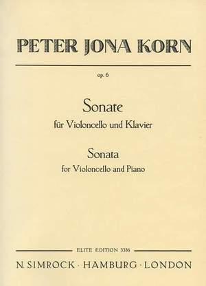 Korn, P J: Sonata op. 6