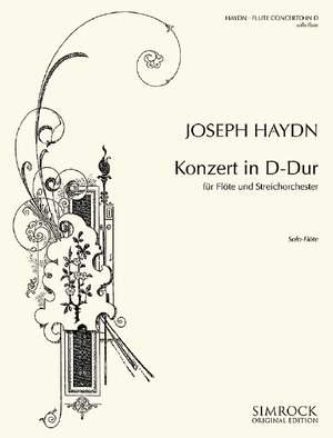 Haydn, J: Flute Concerto D Major Hob. VII/D1