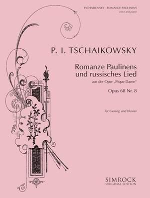 Tchaikovsky: Pauline's Romance (Pique Dame) op. 68