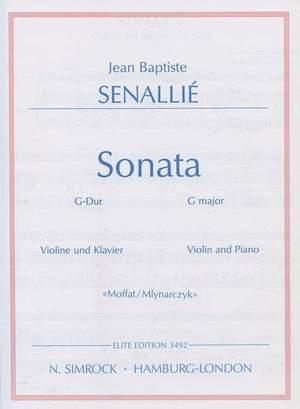 Senallié, J B: Sonata in G