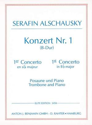 Alschausky, S: Trombone Concerto 1 in B Flat Major Product Image