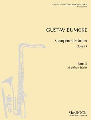 Bumcke, G: Studies op. 43 Vol. 2