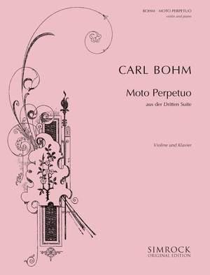 Bohm, C: Moto Perpetuo in D