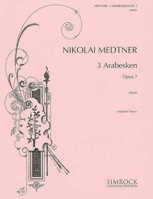 Medtner, N: Three Arabesques op. 7 Product Image