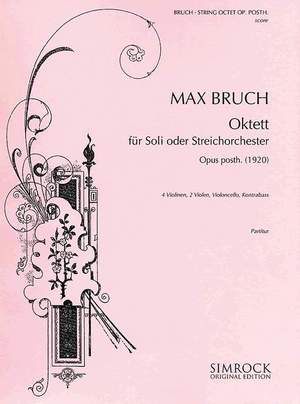 Bruch, M: String Octet op. posth. Product Image