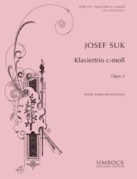 Josef Suk: Piano Trio, Op. 2